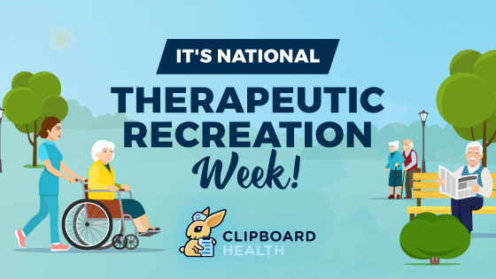 Read more about the article Celebrate National Therapeutic Recreation Week